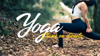 Yoga en directo en Televisión Consciente