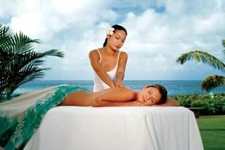 masaje lomi-lomi con Isabelle Tousignant