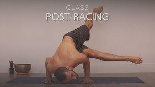 Yoga para el deporte: Corredores, Post carrera