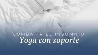 Yoga terapéutico con soportes