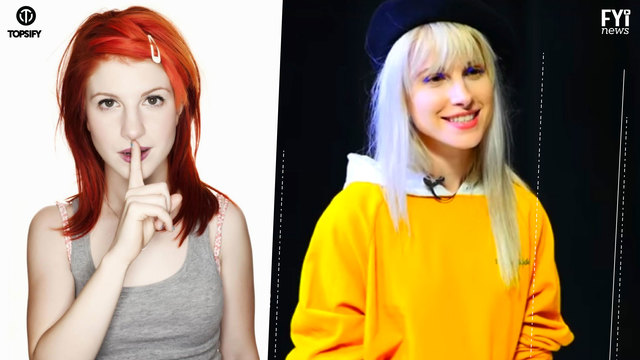 Hayley Williams Hairstyle Evolution