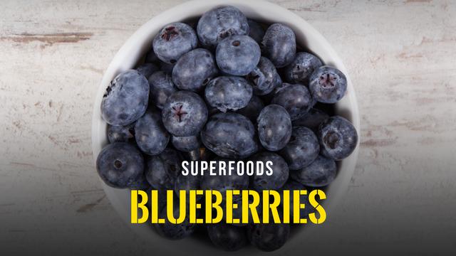 Superfoods - Blueberries