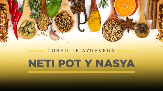 26 Neti Pot y Nasya