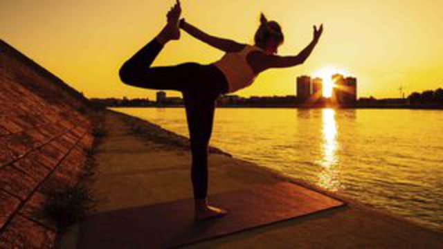 September, the perfect time to practise yoga at home