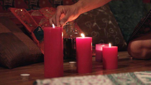 Ritual de masaje tántrico