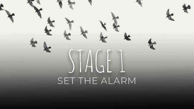07 Set the alarm
