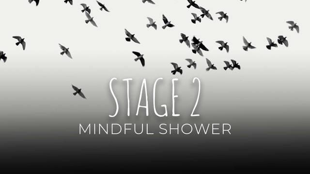 13 Mindful shower