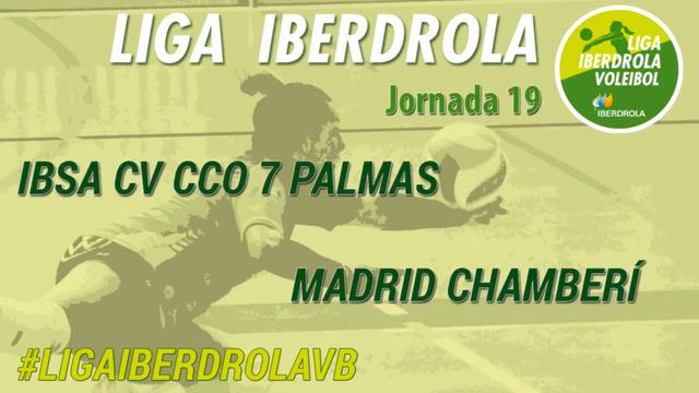 JORNADA 19 | IBSA CV CCO 7 Palmas 3-0 Madrid Chamberí