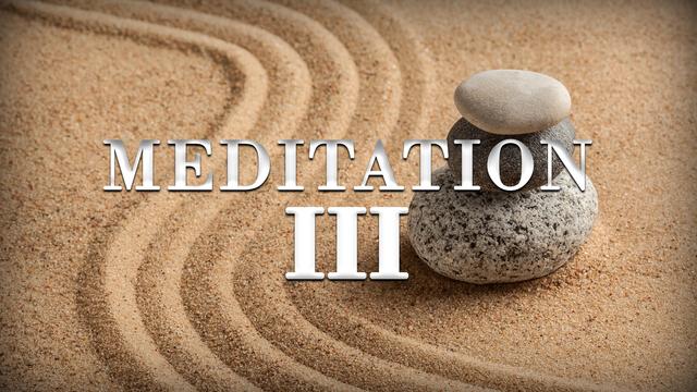 Meditation day 3