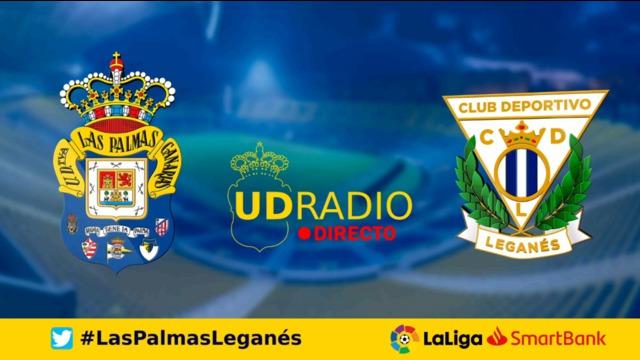 Así contamos lo contamos en UDRADIO   Las Palmas 2-1 Leganés