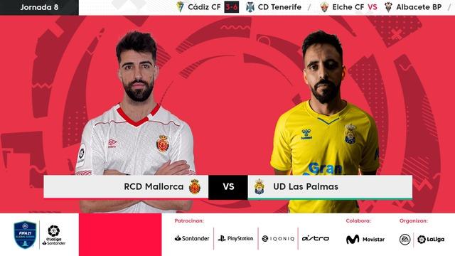 JORNADA 8 | RCD Mallorca 2-7 UD Las Palmas