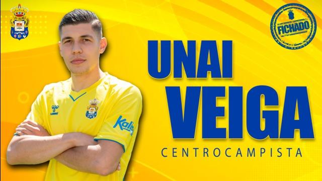 Unai Veiga, nuevo jugador de la UD Las Palmas
