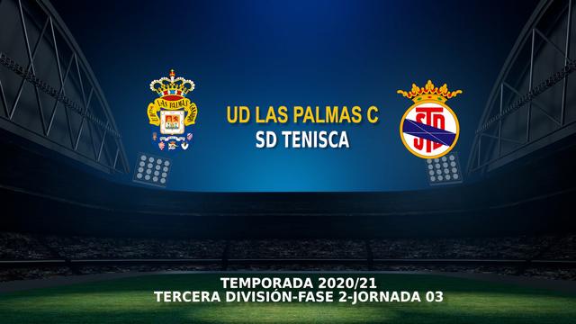 Jornada 3 (Fase 2)   Las Palmas C 2-2 Tenisca
