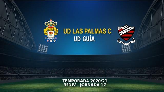 Jornada 17   Las Palmas C 4-1 Guía