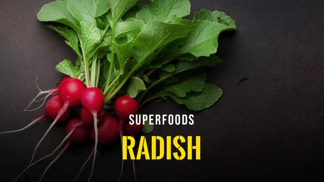 Superfoods - Radish