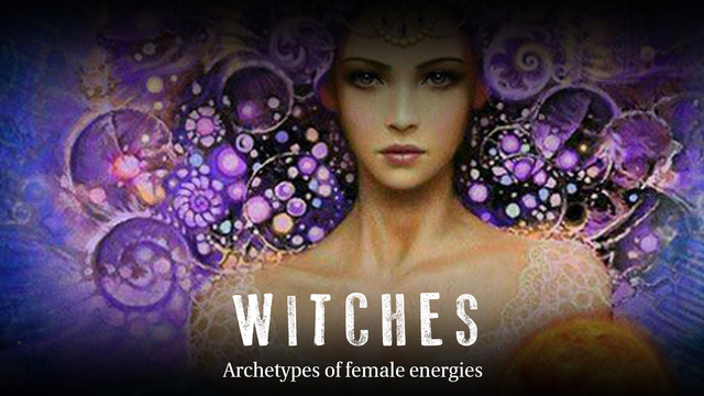 The archetypes of feminine energies