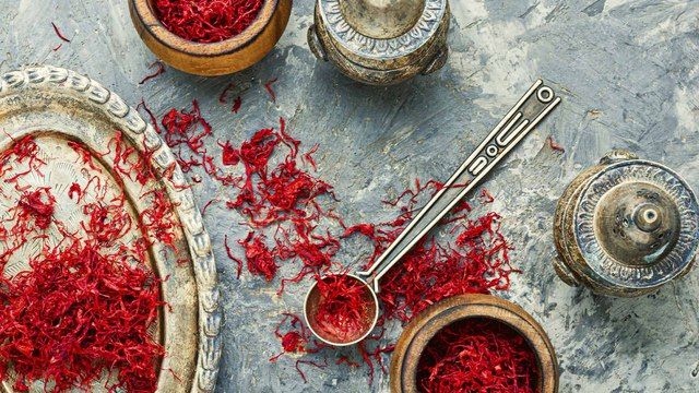 Benefits of saffron, the red gold.