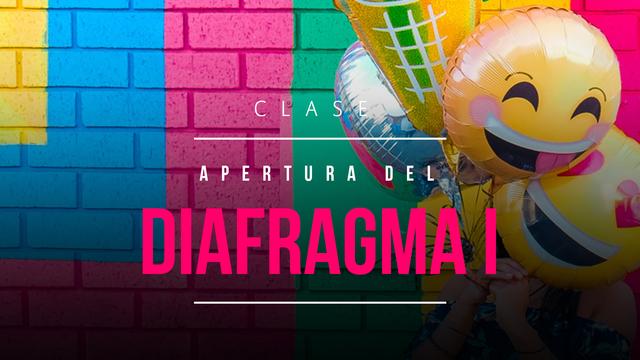 Abrir el diafragma 1