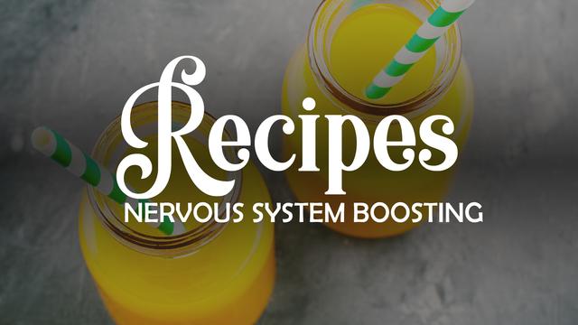 Recipe: Juice to improve the nervous system
