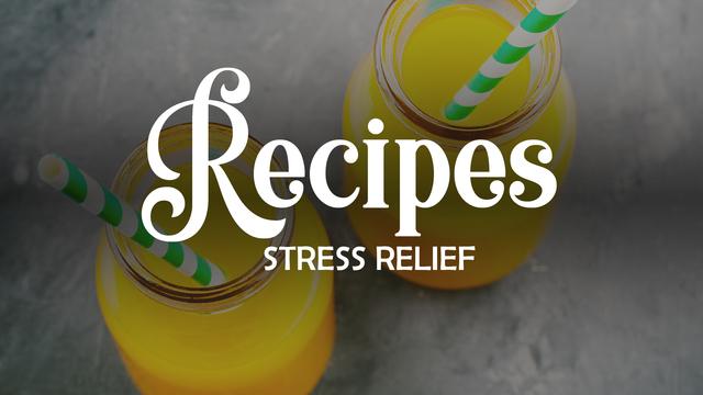 Recipe: Juice to combat stress