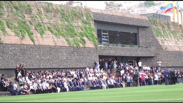 Inauguración de la Ciudad Deportiva UD Las Palmas