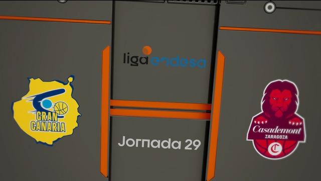 Jornada 29 | Herbalife Gran Canaria 84-76 Casademont Zaragoza