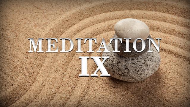 Meditation day 9