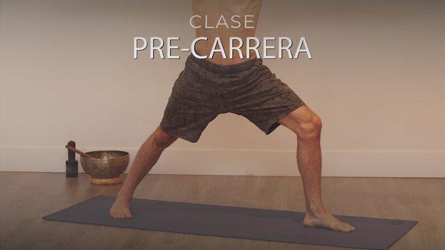 Yoga para el deporte: Corredores, Pre carrera