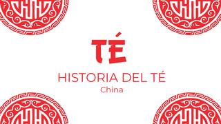 Historia del té: El té en China