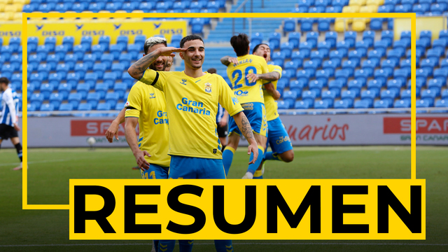 RESUMEN | UD Las Palmas - Espanyol (1-0)