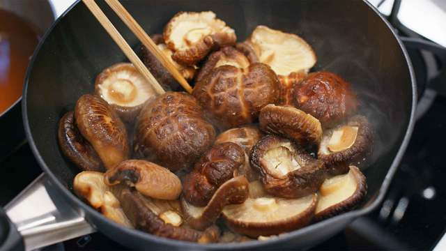 Shiitake mushrooms, great allies of the immune system.